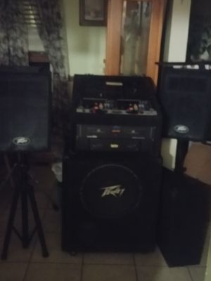 Dj or pa set up for Sale in Bolingbrook, IL