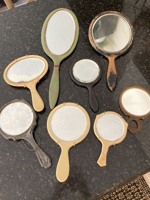 Giant lot of vintage & Antique hand mirrors (see other listing for lot of vintage wall mirrors) for Sale in San Diego, CA