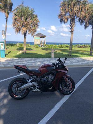 2014 honda cbr650f 11,000mi for Sale in Deerfield Beach, FL