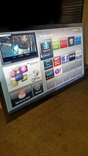 "Ultra Slim 55""Samsung Led 3D HD 1080p Smart clear Motion 240hz Slim UN55C9000 for Sale in San Jose, CA"