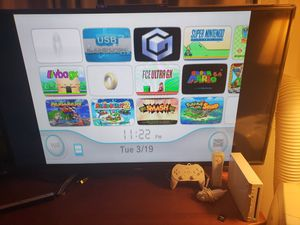 Nintendo Wii modded many games. NES, SNES, Genesis, GBA, N64, Gamecube, Wii for Sale in Falls Church, VA