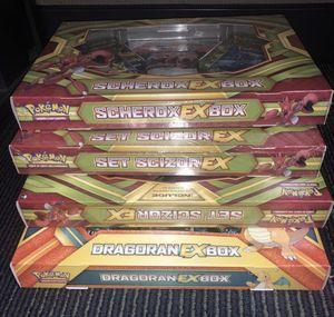 Huge Pokemon Lot - 4 new/sealed box sets! for Sale in Carol Stream, IL