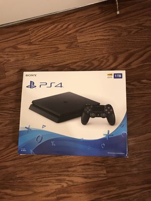NEW Sony PlayStation PS4 1TB Slim Gaming Console Black for Sale in Wellington, FL