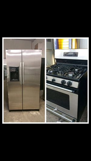 GE stainless steel set for Sale in Yonkers, NY