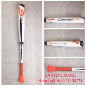 EASTON MAKO Baseball Bat -10 31/21 for Sale in San Leandro, CA