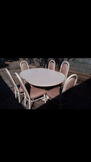 Dining Table with 6 cheers FREE for Sale in Stockton, CA