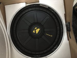 """Kicker subwoofer 12"""" Comp1 NO BOX for Sale in Los Angeles, CA"""