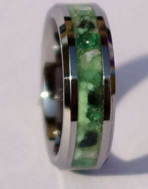 The Emerald City Ring, Custom Handmade moonstone ring for Sale in Long Beach, CA