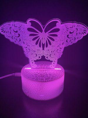 Beautiful Butterfly 🦋 3D lamp for Sale in Las Vegas, NV