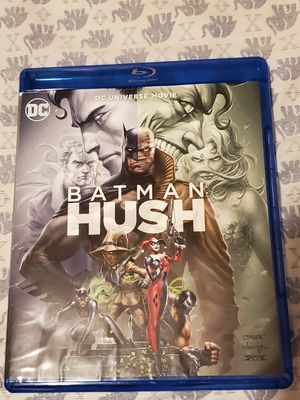 Batman Hush Blu-Ray / DVD for Sale in Fort Worth, TX