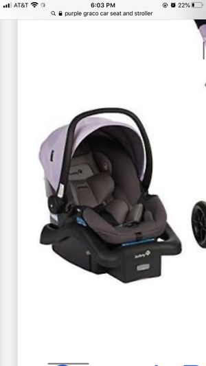 Baby girl car seat with base for Sale in Grand Rapids, MI