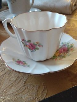 Royal Stewart Spencer Stevenson Fairy Sharp Cup And Saucer Rose Flower for Sale in Silver Spring,  MD