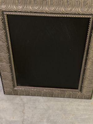 Large Framed Chalk Board- HM STAGER SALE for Sale in Stafford, VA