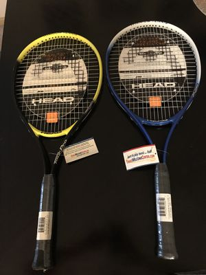 Pair of brand new tennis rackets for Sale in Hendersonville, TN