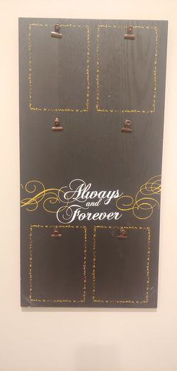 Always and forever photo frame for Sale in Renton,  WA
