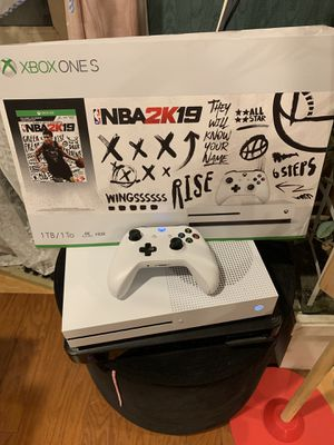 Xbox one s. 1 TB. With controller and nba 2k19 and hdmi. Asking $220 obo for Sale in Huntington Beach, CA