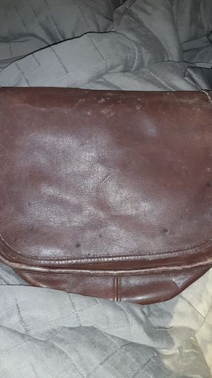 Coach Leather Messenger Bag for Sale in Tampa, FL