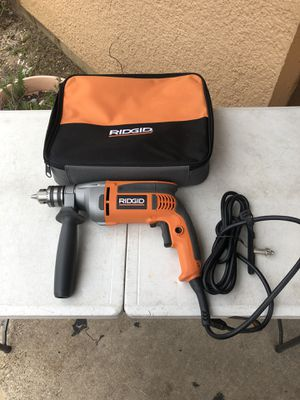 Ridgid 1/2 Heavy Duty Drill New $60 for Sale in Carrollton, TX
