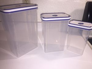 Food storage containers with lids (brand new) for Sale in Orlando, FL