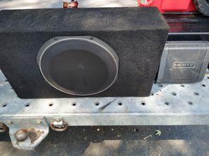 JL Audio 10inch Sub and Hertz Mono Amplifier for Sale in Warwick, RI
