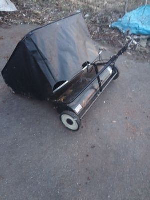 Riding lawn mower leaf rake attachment for Sale in Maple Valley, WA