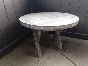 Antiqued Wood Multi-Use Table for Sale in Downers Grove, IL