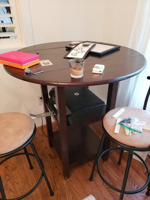 Espresso Wood Table and Chairs for Sale in Washington, DC
