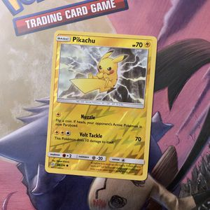 Pokemon pikachu holo card cosmic eclipse new for Sale in El Monte, CA