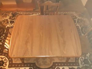 Wooden Table & 3 chairs 50 bucks for Sale in Parma, OH