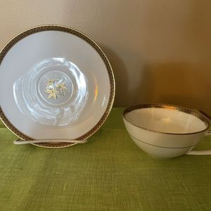 Noritake Goldston China Cup And Saucer Set for Sale in Fort Lauderdale, FL