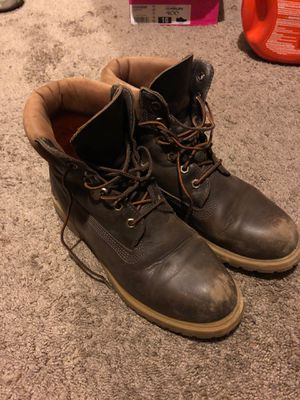 Timberland boots, real leather, woman's 9.5 for Sale in San Diego, CA