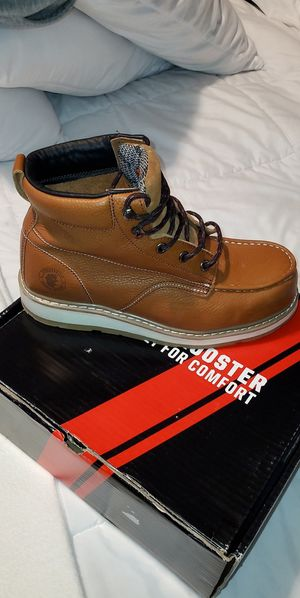 Work Boots - Rock Rooster Steel toe for Sale in Los Angeles, CA