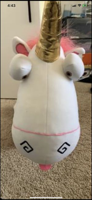 New despicable me unicorn plushie for Sale in McLean, VA