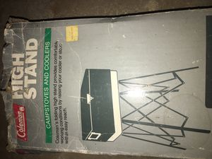 Camping stove and cooler stand for Sale in Clovis, CA