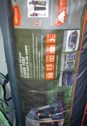 Camping Tent With 2 Sleeping bags for Sale in Atlanta, GA