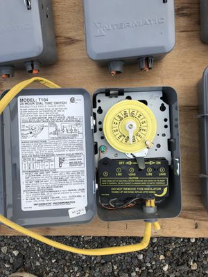 Intermatic Electrical Timers for Sale in Duvall, WA