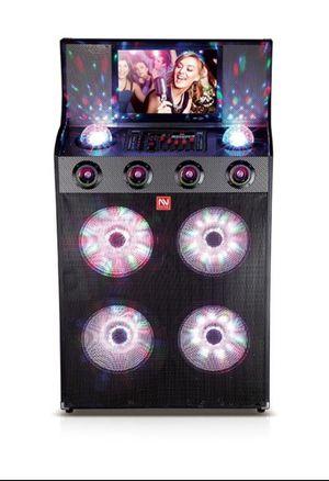 Karaoke speaker 15,000 watts for Sale in Fontana, CA