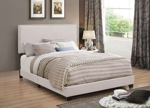 Modern Queen Bed Frame with Mattress Set!! Brand New Free Delivery for Sale in Chicago, IL