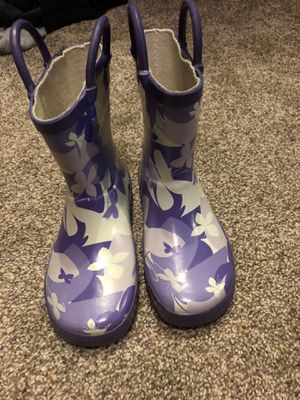 GIRLS RAIN BOOTS for Sale in Howard, WI