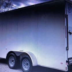 7x16 V Nose Cargo Enclosed for Sale in Chicago,  IL