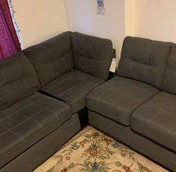 Benchcraft Gray Sectional Couch for Sale in Washington,  DC