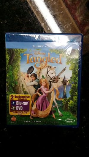 Tangled Blu-ray Brand New for Sale in Mount Vernon, OH
