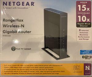 Netgear Wireless – N Gigabit Router for Sale in Spring, TX