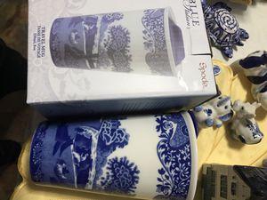 Spode Italian blue travel mug for Sale in New York, NY