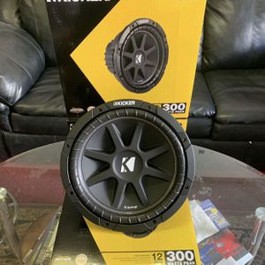Kicker Car Audio . 12 Inch Car Stereo Subwoofers . High Quality . New Years Super Sale ! $69 Each While They Last . New for Sale in Mesa, AZ