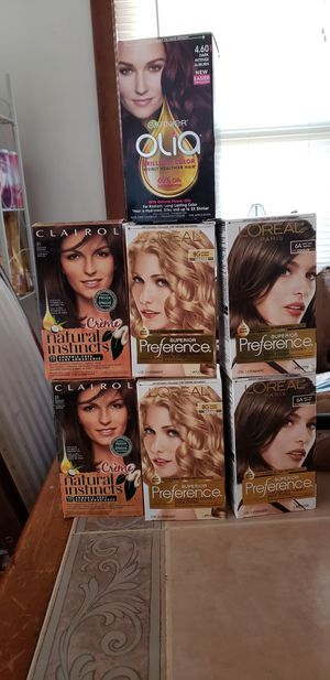 Hair dye bundle for Sale in Rustburg, VA