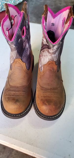 ARIAT work boots for Sale in Houston, TX