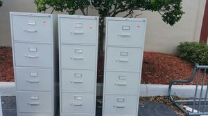 3 File cabinets for Sale in Tampa, FL