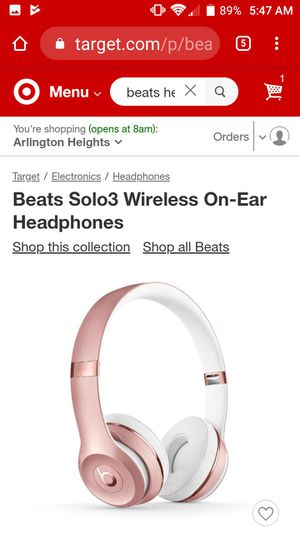 Beats Solo 3 Wireless Headphones for Sale in Arlington Heights, IL