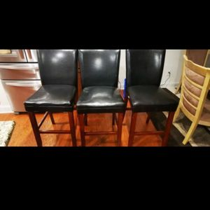 High/Bar Chairs-3 for Sale in Raleigh, NC